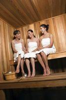 ¿Puede utilizar cedro blanco para una Sauna?
