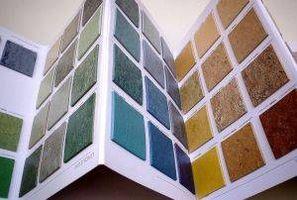 Instalación de linóleo suelo adhesivo