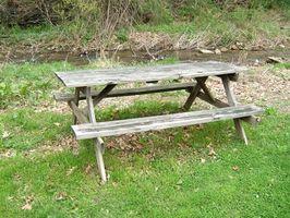 ¿Qué madera es conveniente para una mesa al aire libre?