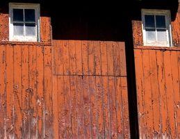 Pistas de cómo colgar puerta de granero