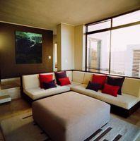¿Qué tipo de complemento de tratamientos de ventana una casa marrón?
