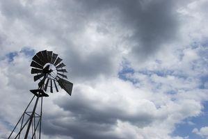 Cómo utilizar un alternador en un molino de viento