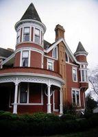 Las ventajas de casas de estilo victoriano