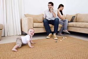 Cómo sacar las burbujas de una alfombra