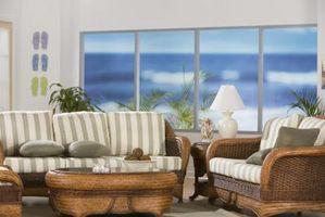 ¿Cuánto espacio debería ser entre un sofá y un asiento de amor?