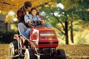 Cómo quitar una rueda de Tractor John Deere oxidados césped