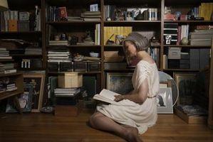 Cómo mostrar una colección de libros en su casa
