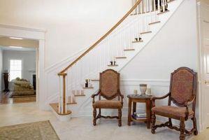 Ideas para un diseño de escalera del Hall de entrada