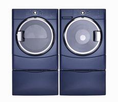 ¿Cuál es el estándar pies cúbicos para una lavadora y la secadora?