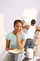 Ideas para los deportes de decoración y colores de pintura para la habitación de un niño