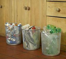 Cómo reciclar vidrio y plástico en Worcester, Massachusetts