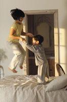 ¿Cómo deshacerse de un chapuzón en medio de la cama