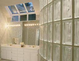 Herramientas de eliminación de lechada de bloque de vidrio