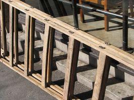 Escalera de madera librería Ideas