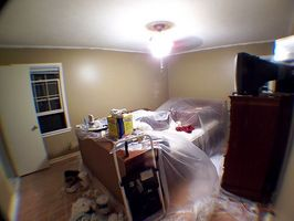 Corregir la técnica de pintura de pared Interior