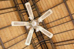 Cómo instalar un ventilador de techo en techo abovedado