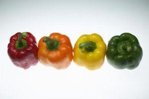 Cómo guardar las semillas de pimiento verde
