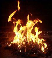 Cómo pintar las llamas buzón