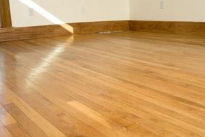 ¿Lo que están hechos la mayoría de pisos de madera de?