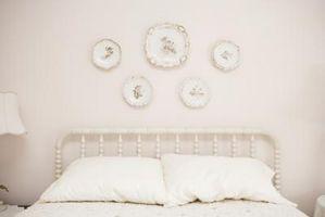 Cómo hacer un dormitorio blanco cálido y acogedor