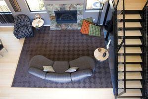 ¿Cómo elegir la coordinación de colores para las paredes, alfombra y muebles