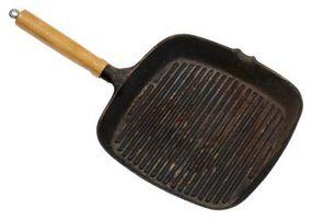 ¿Funciona una parrilla de hierro fundida en una estufa?