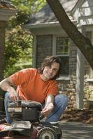 Cómo restaurar cortadoras de césped