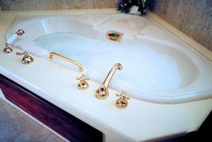 Las mejores bañeras de esquina para instalar en una casa de 2 pisos