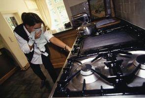 Cómo convertir el Gas en y Off si está pegada la perilla de la estufa