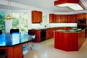 Cómo figura gabinetes para una cocina