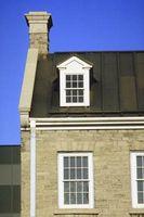 Daños de ¿techo causados por la humedad entra de fuera de la chimenea?