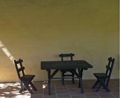 Como pintar una vieja mesa de cocina