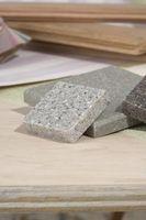 Cómo instalar una encimera de granito azulejo sobre azulejo de cerámica