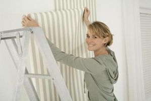 Cómo colgar texturados para pintar fondos