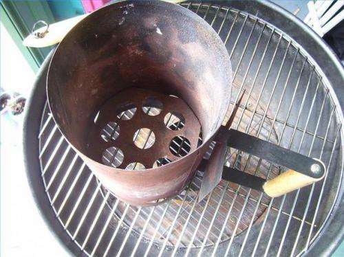 Como encender una parrilla sin fluido de encendedor