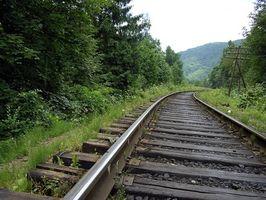 Cómo construir con lazos de ferrocarril
