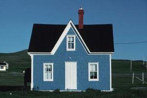 Ideas para la decoración casera en una casa pequeña con un techo alto