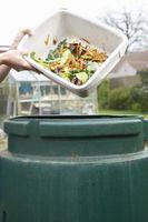BRICOLAJE comida chatarra de compostaje