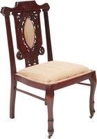 ¿Cuál es el término correcto para las sillas de comedor de tela?