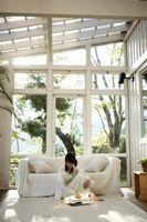 BRICOLAJE hacer un porche en una terraza acristalada