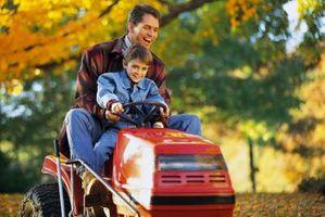 Información sobre cómo reemplazar las correas en cortacésped tipo Tractor