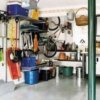DIY: Estante del almacenaje del Garage