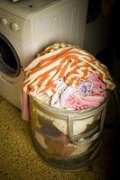 Cómo determinar el uso de agua de una lavadora de ropa