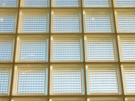 Cómo colocar baldosas de bloque de vidrio