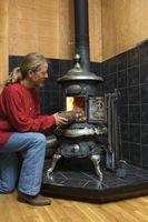 Cómo construir un tablero de piedra por debajo de una estufa