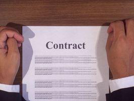 Lista de revisión de contrato de construcción