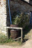 Tipos de recipientes para recoger agua de lluvia para el jardín