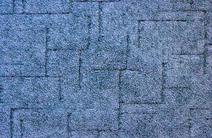 ¿Qué pieza teñido de alfombras?