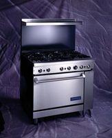 ¿Cómo se mide el amperaje en un quemador de horno