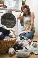 Cómo ocultar una lavadora y secadora